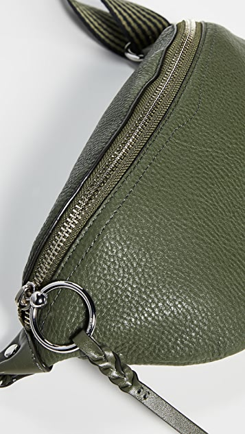 Rebecca Minkoff Bree Belt Bag with Webbing Strap