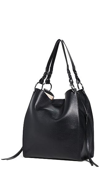 Rebecca Minkoff Мягкая объемная сумка с короткими ручками Kate