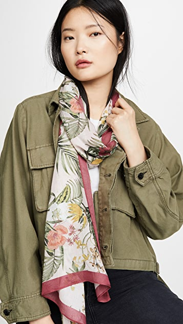 Rebecca Minkoff Tropical Long Scarf