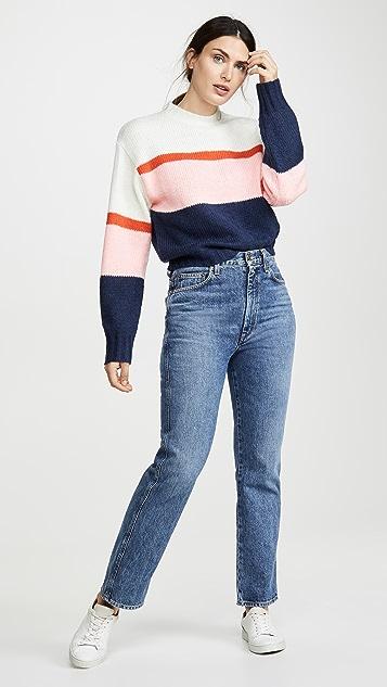 Rebecca Minkoff Liliana Striped Sweater