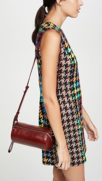 Rebecca Minkoff Luxe Croco Barrel Crossbody Bag