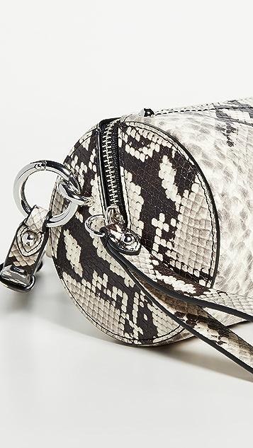 Rebecca Minkoff Python Barrel Crossbody Bag
