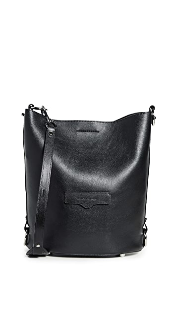 Rebecca Minkoff Utility Convertible Bucket Bag