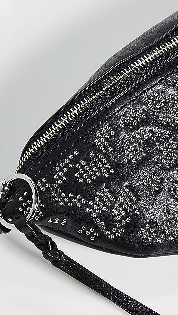 Rebecca Minkoff Leopard Stud Bree Belt Bag