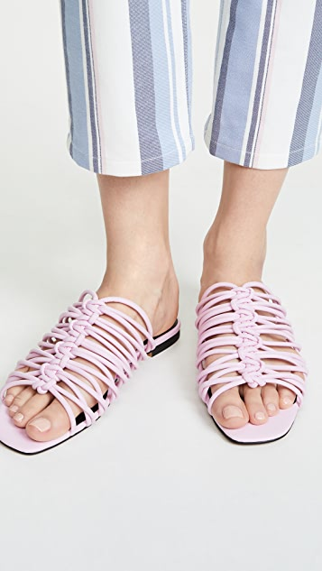 Rebecca Minkoff Maelynn 绑带凉拖鞋