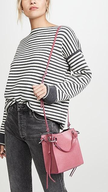 Rebecca Minkoff Миниатюрная объемная сумка Kate N/S с короткими ручками