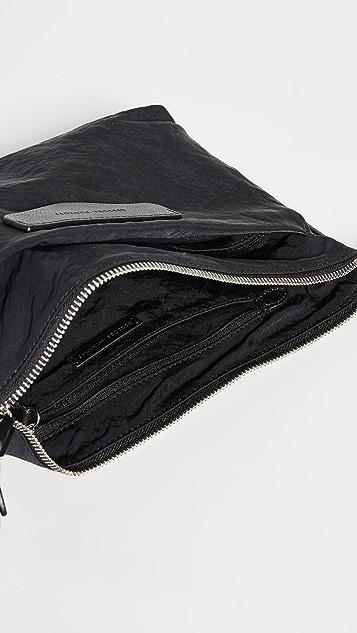 Rebecca Minkoff Bowie Top Zip Nylon Crossbody Bag