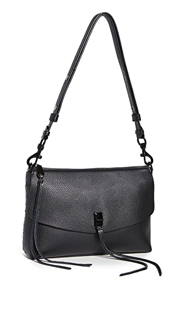 Rebecca Minkoff Darren Top Zip Shoulder Bag