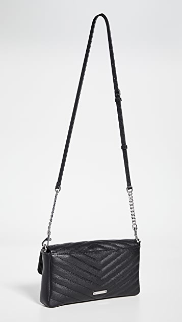 Rebecca Minkoff Edie Clutch with Pearl Strap
