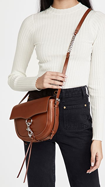 Rebecca Minkoff Megan Saddle Crossbody Bag
