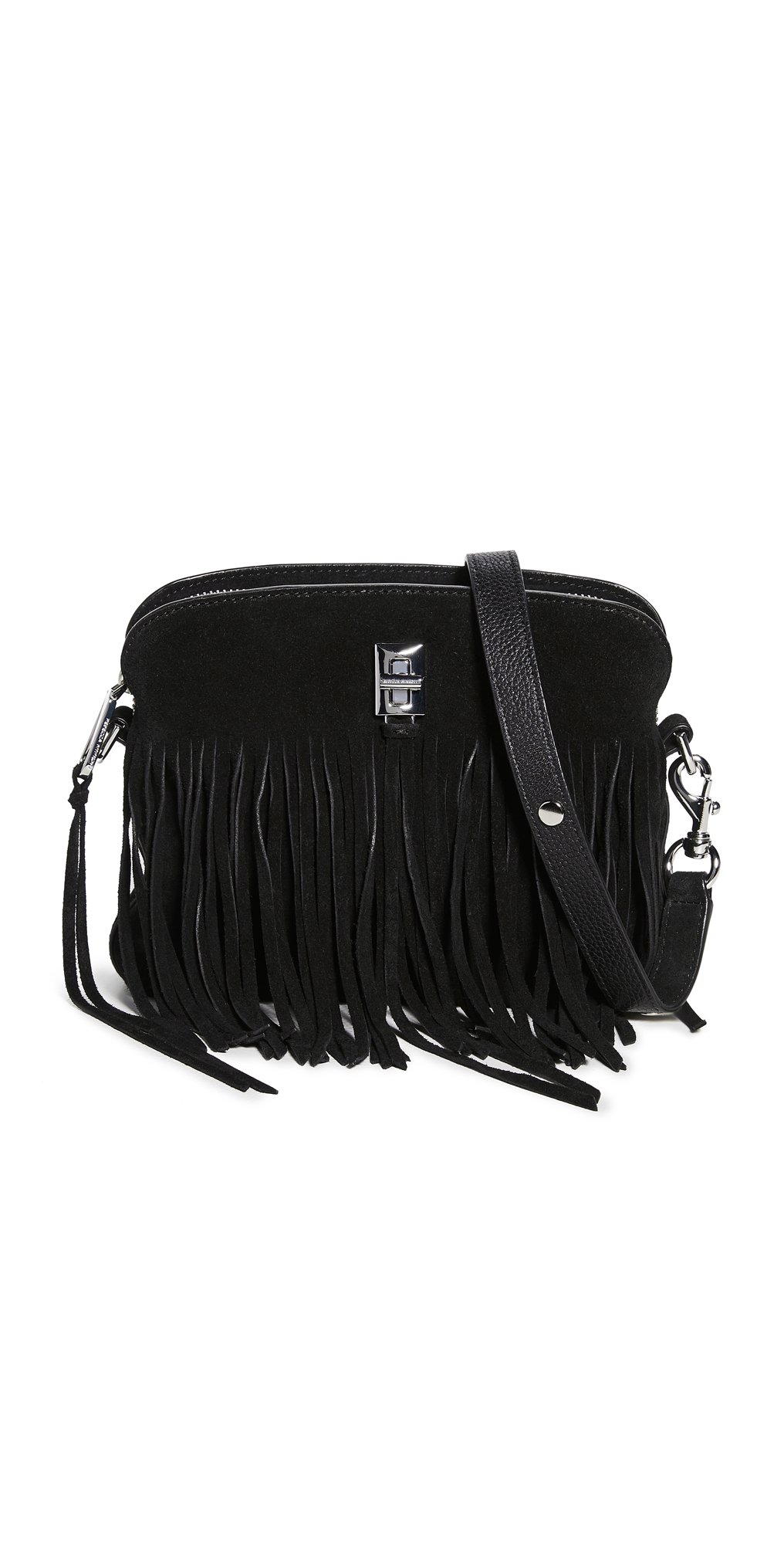 Rebecca Minkoff Darren Small Crossbody Bag with Fringe