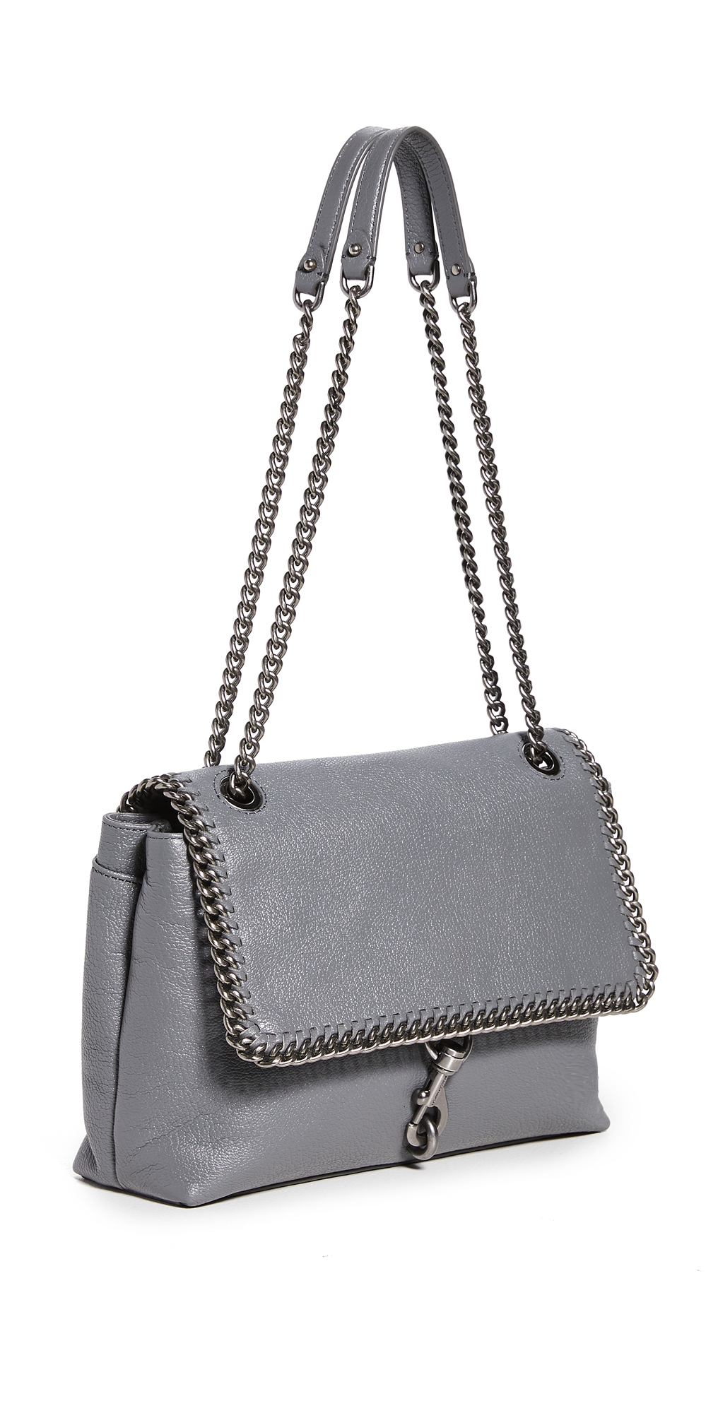 Rebecca Minkoff Edie Shoulder Bag with Woven Chain