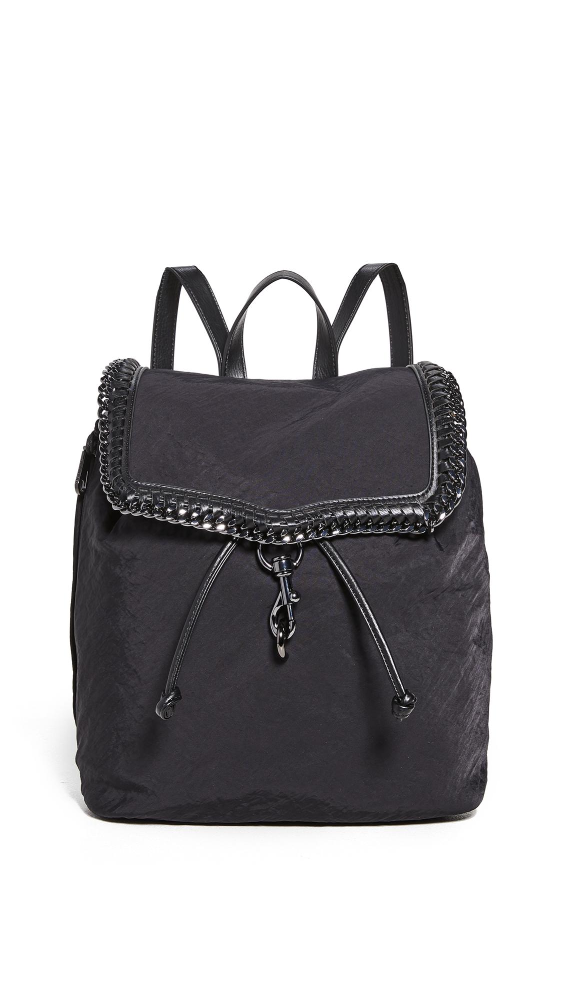 Rebecca Minkoff Woven Chain Backpack