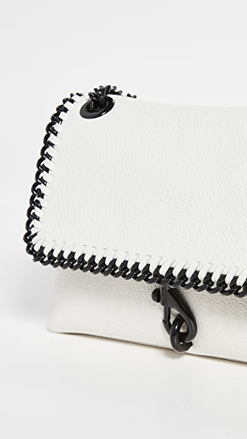 Rebecca Minkoff Edie Crossbody with Woven Chain