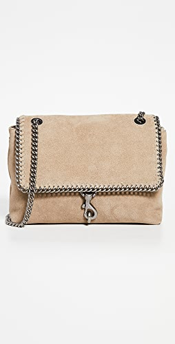 Rebecca Minkoff - Edie Shoulder with Woven Chain
