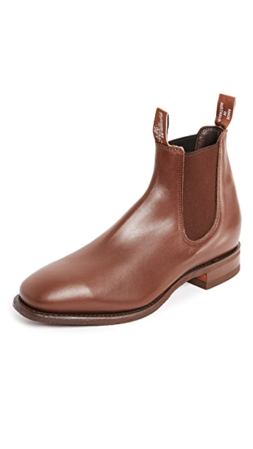 R.M. Williams Comfort RM Leather Chelsea Boots