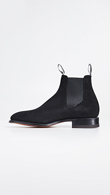 R.M. Williams Suede RM Chelsea Boots