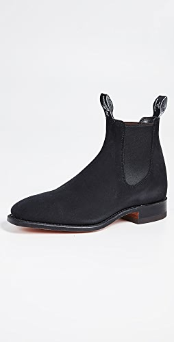 R.M. Williams - Suede RM Chelsea Boots