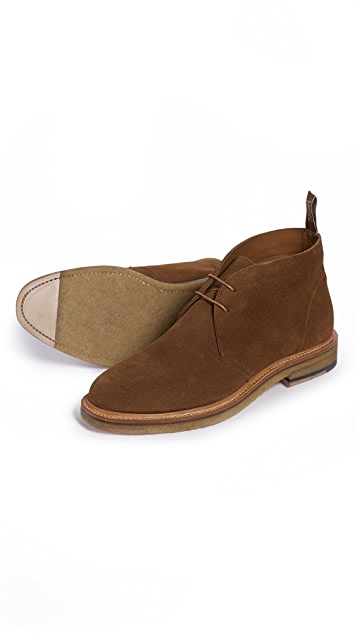 R.M. Williams Tanami Suede Chukka Boots