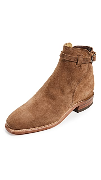 R.M. Williams Suede Buckle Boots