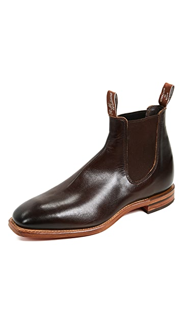 R.M. Williams Flat Heel Boots