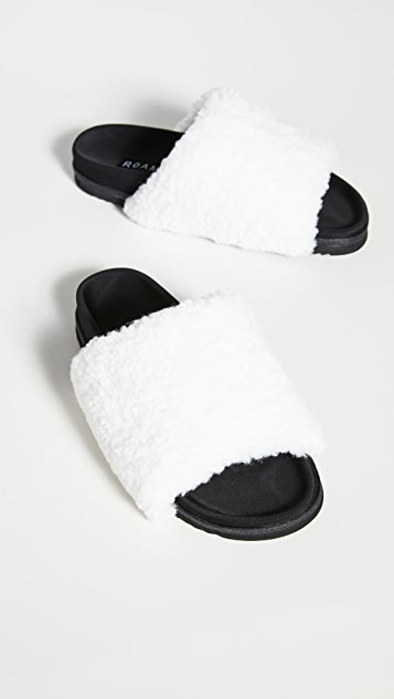 ROAM 毛绒便鞋