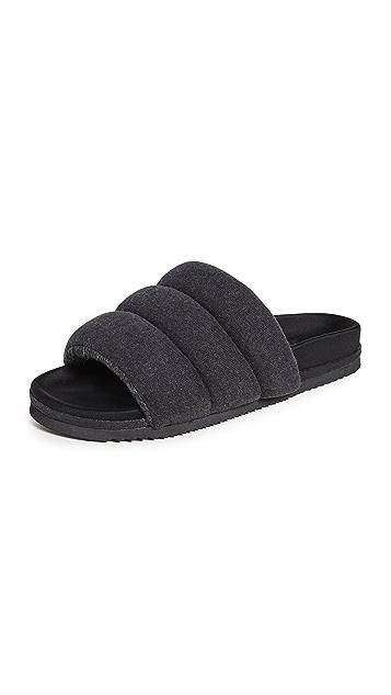 ROAM Jersey Puffy Sandals
