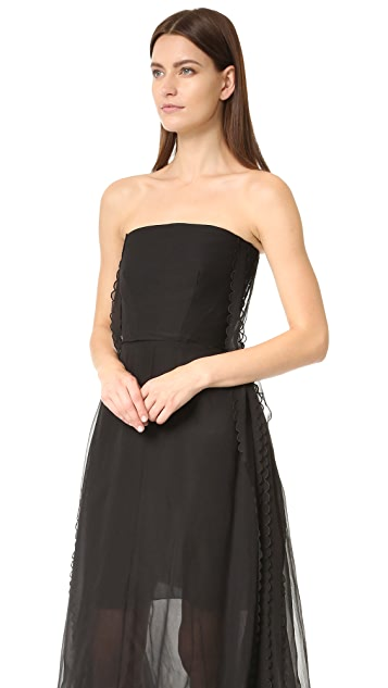 Rochas Strapless Gown