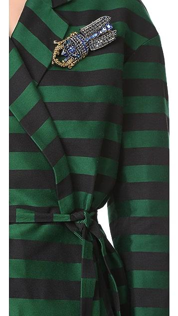 Rochas Striped Coat