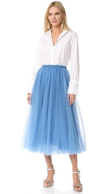 Rochas Tulle Skirt