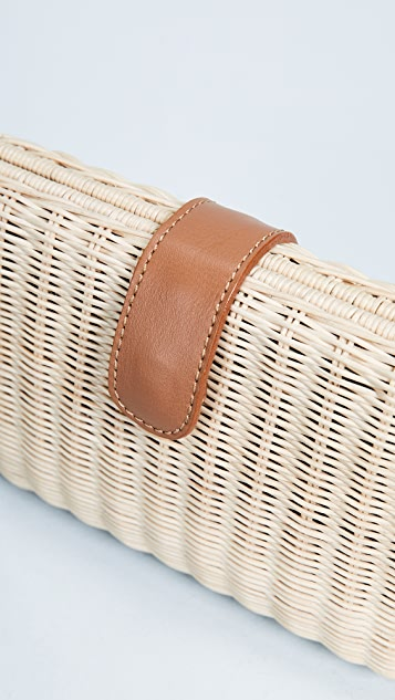 ROCIO Sen Wicker Clutch