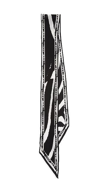 Rockins Super Skinny Zebra Scarf