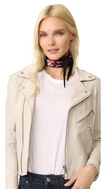 Rockins Flora Super Skinny Scarf