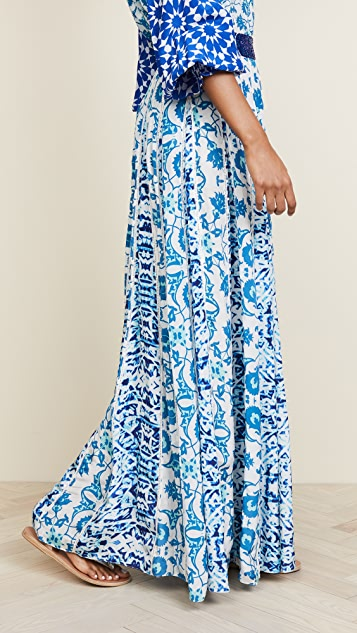 ROCOCO SAND Labyrinth Long Skirt