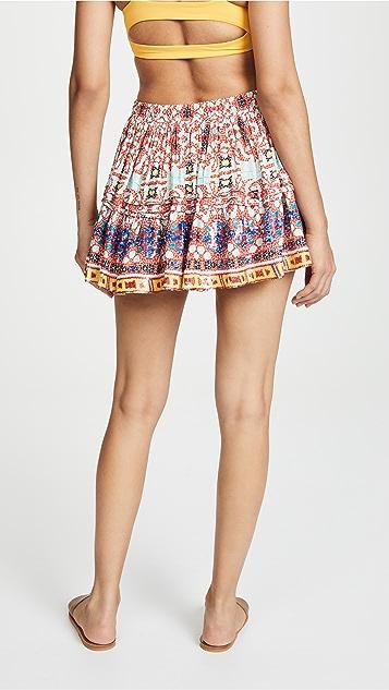 ROCOCO SAND Short Printed Skirt