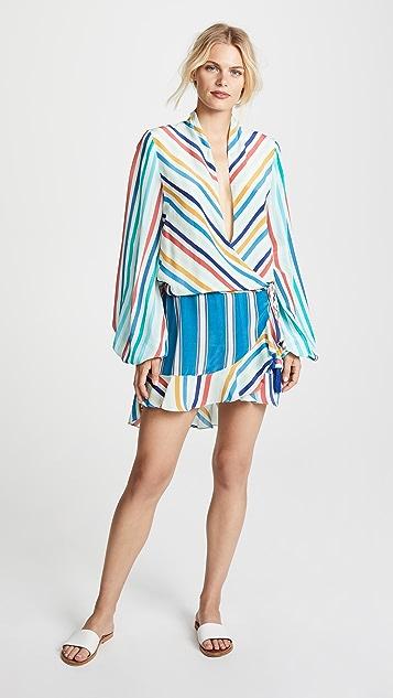 ROCOCO SAND Silk Short Dress