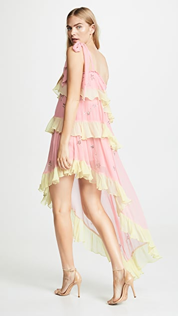 ROCOCO SAND Star Light One Shoulder Dress