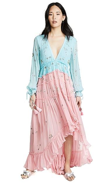 ROCOCO SAND Асимметричное платье Star Light
