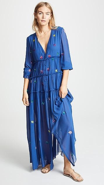 ROCOCO SAND Длинное платье Stellar