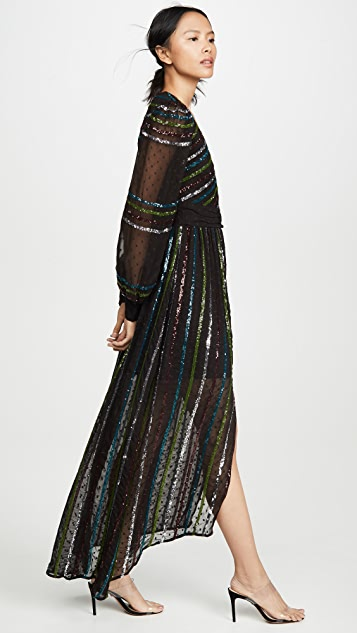 ROCOCO SAND Sequin Long Dress