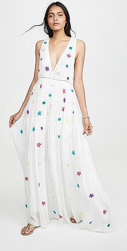 ROCOCO SAND - Sleeveless Star Dress