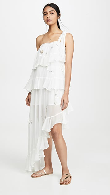 e6eb10f7ec ROCOCO SAND Star Light One Shoulder Dress | SHOPBOP
