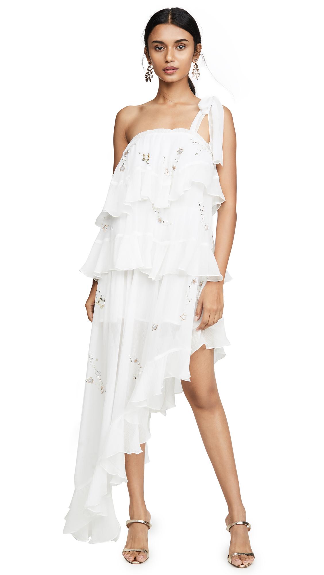 ROCOCO SAND Star Light One Shoulder Dress