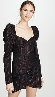 ROCOCO SAND Long Sleeve Mini Dress