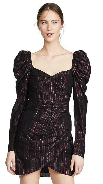 ROCOCO SAND Мини-платье с длинными рукавами