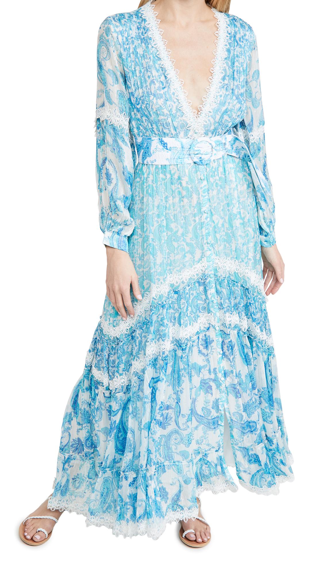 ROCOCO SAND V Neck Dress