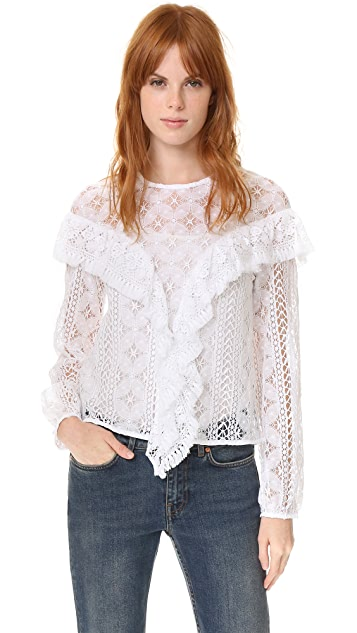 Rodebjer Mikayla Lace Blouse