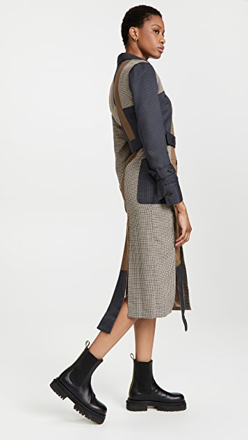 ROKH Patchwork Dress