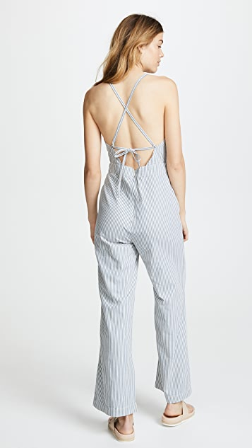 Rolla's Stripe Jerry Jumpsuit