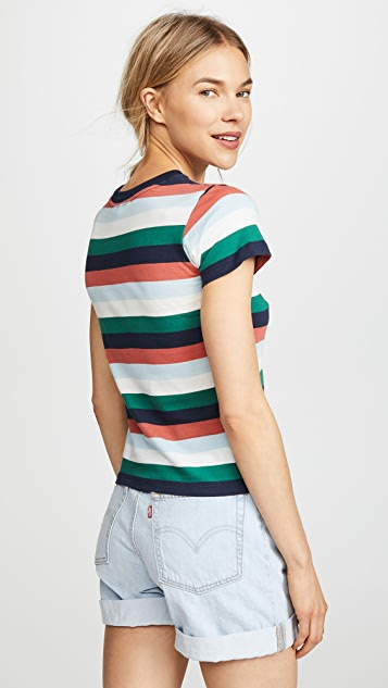 Rolla's Candy Stripe Tee